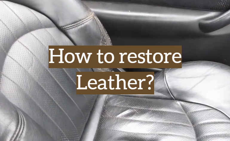 How to Renovate Your Old Leather Item with a Repair Kit?