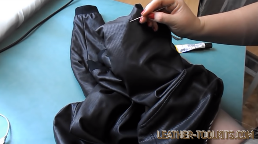 Renovate leather