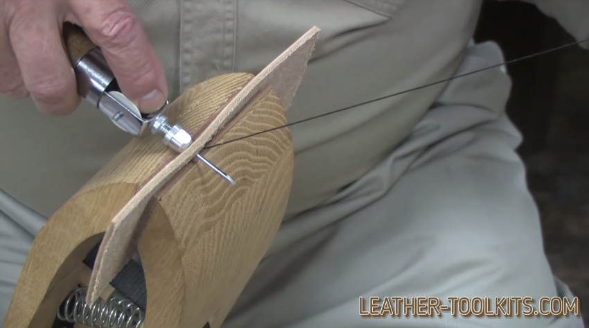 Using a Leather Sewing Awl