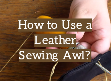 How to Use a Leather Sewing Awl?