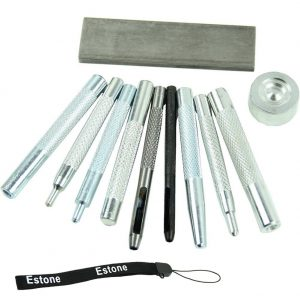 Estone Set of 11 Craft Tools for Riveting