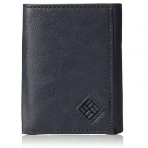 Columbia Men's RFID Leather Wallet