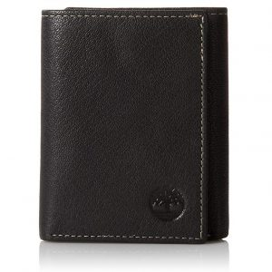 Timberland Men's Leather Trifold Wallet