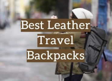 Leather Travel Backpacks
