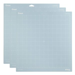 Cricut Lightgrip Cutting Mat 12-inch by 12-inch Triple Pack