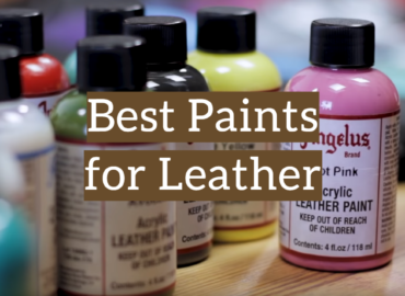 10 Best Paints for Leather