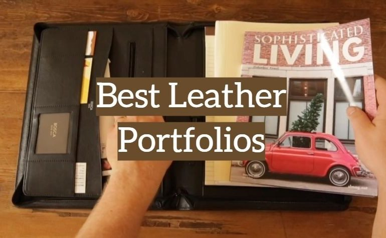 10 Best Leather Portfolios