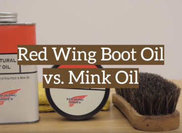 Red Wing Boot Oil vs. Mink Oil