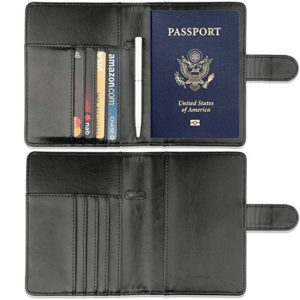 GDTK Leather Passport Holder Cover