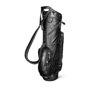 Sun Mountain Golf Leather Cart Bag