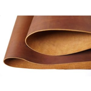 Bourbon Brown Tooling Leather Square 2.0mm