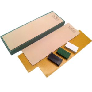 Kit of 2 Leather Honing Strop 3 Inch