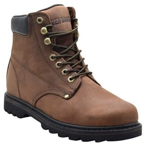 EVER BOOTS Tank Mens Soft Toe Oil Full Grain Leather Insulated Work Boots
