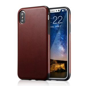for iPhone Xs Brown Leather Case, for iPhone X Case