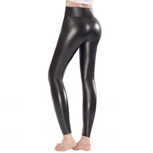 Ginasy Faux Leather Leggings Pants