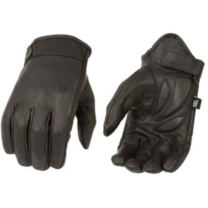 Milwaukee Mens Summer Cruising Gloves (Black, X-Large)