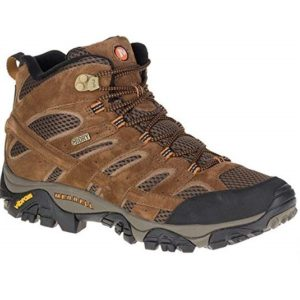 Merrell Mens Moab 2 Mid Waterproof Hiking Boot