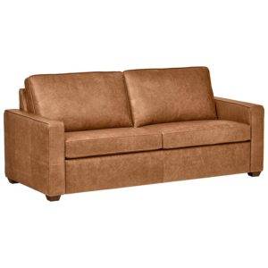 Rivet Top-Grain Leather Sofa