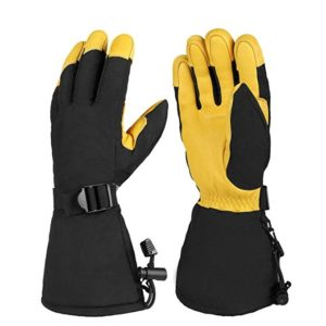 OZERO Winter Ski Snow Gloves Mitten Windproof