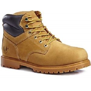 KINGSHOW Mens 1366 Water Resistant Premium Work Boots