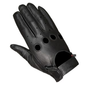 New Biker Police Leather Motorcycle Riding Ventilation Driving Gloves