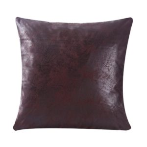 WFLOSUNVE Soft Faux Leather Pillow Covers Decorative Throw Pillow