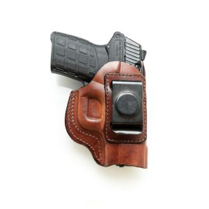 Leather IWB Holster Glock 42 .Brown R/H