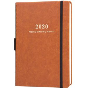 2020 Planner - Weekly & Monthly Planner with Calendar Stickers