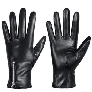 Winter Leather Gloves for Women, Touchscreen Texting Warm Driving Gloves by Dsane