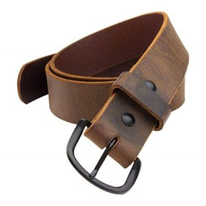 The Bootlegger Leather Belt