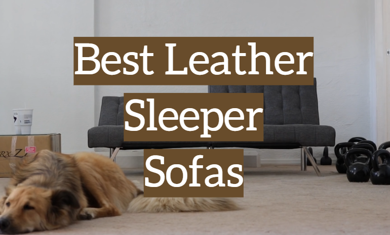 5 Best Leather Sleeper Sofas