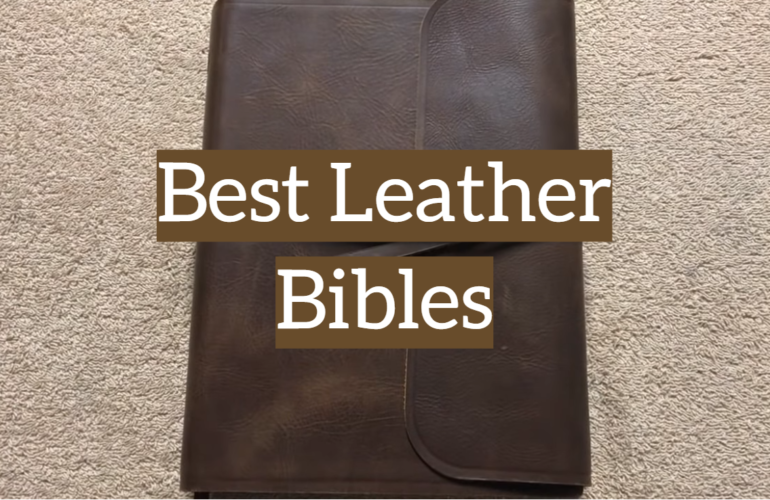5 Best Leather Bibles