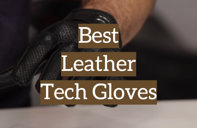 5 Best Leather Tech Gloves
