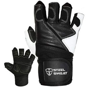 Steel Sweat Weightlifting Gloves -