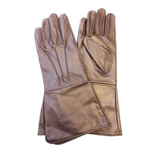 MEDIEVAL RENAISSANCE COSTUME COSPLAY SWORDSMAN STEAMPUNK UNLINED LEATHER GLOVES GAUNTLETS