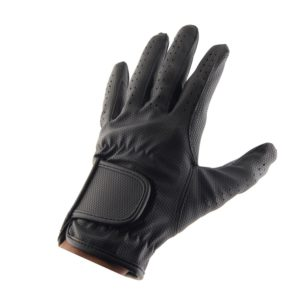 ALLNESS INC Leather Equestrian Horse Riding Gloves