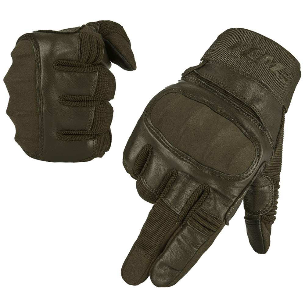 ILM Tactical Gloves Men Touchscreen - Military Mechanic Hunting Shooting Combat Airsoft Heavy Duty Knuckle Gloves Motorcycle Cycling