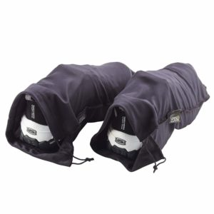 Lewis N. Clark Nylon Drawstring Travel Shoe Bags