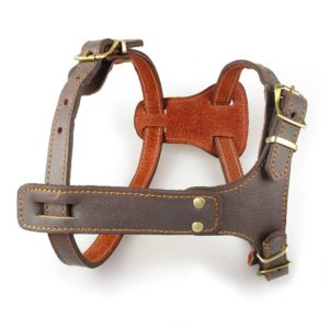 Beirui Leather Dog Harness Small Medium Large Dogs