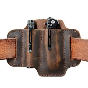 EDC Leather Belt Loop