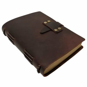 Handcraft Leather Journal with Lined Paper