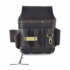 Style n Craft 70-603 10 Pocket Heavy Duty Oiled Top Grain Leather