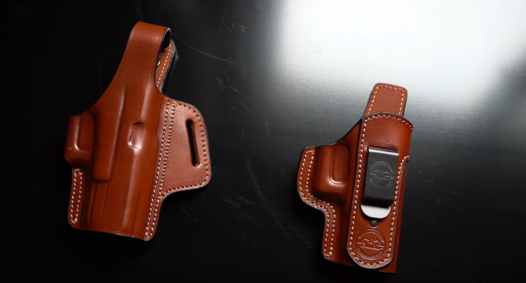 Kydex vs Leather Holsters