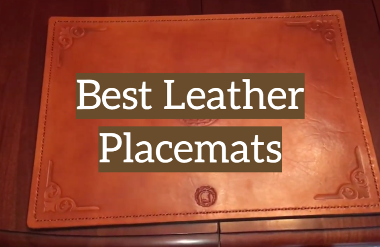 5 Best Leather Placemats