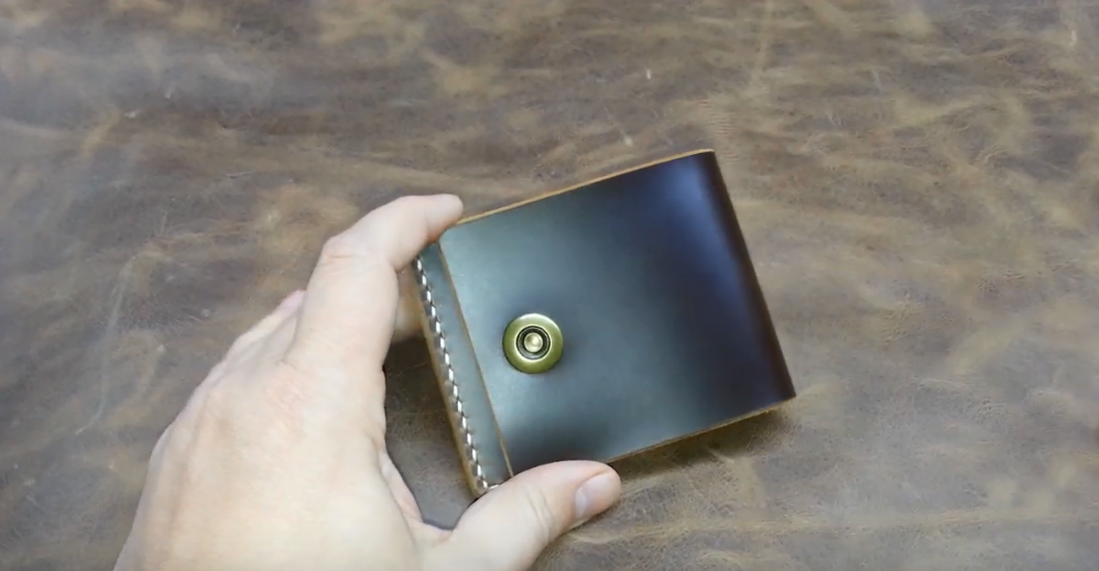 Pull-Up Leather wallet