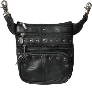 Hip Bags For Women-Leather Belt Pouch & Belt Loop Purse For Women by Bayfield Bags