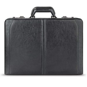 Solo New York Broadway Premium Leather Attache Case