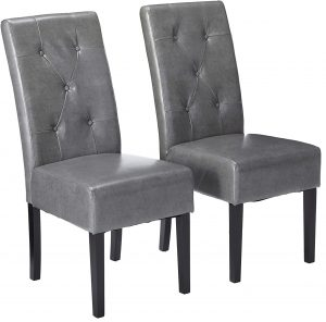 Christopher Knight Home Taylor Bonded Leather Dining Chairs