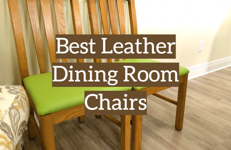 5 Best Leather Dining Room Chairs