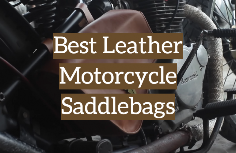 5 Best Leather Motorcycle Saddlebags